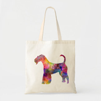 Airedale Terrier 01 in watercolor 2 Tote Bag