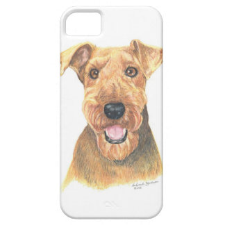 Airedale Terrier Art iPhone 5 Cases