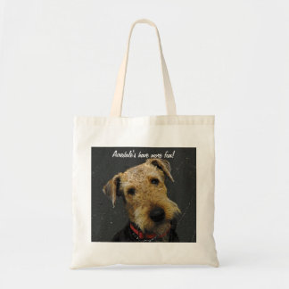 Airedale Terrier Budget Tote Bag