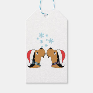 Airedale Terrier Christmas Wrapping Gift Tags