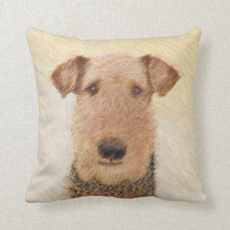 Airedale Terrier Cushion