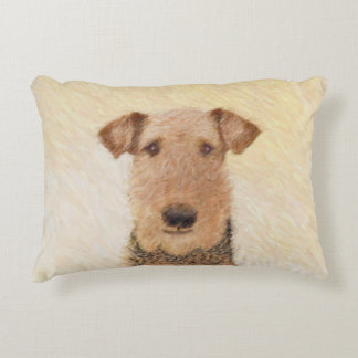 Airedale Terrier Decorative Cushion