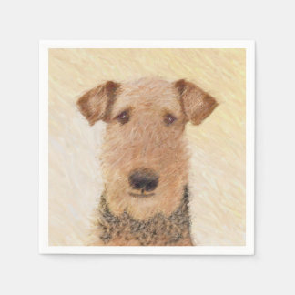 Airedale Terrier Disposable Napkins