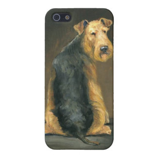 Airedale Terrier Dog Art Iphone case iPhone 5/5S Cover