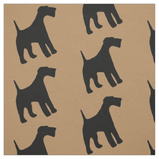 Airedale Terrier Dog Fabric