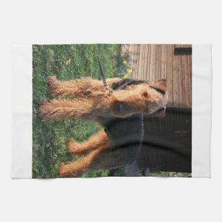 Airedale_Terrier full.png Tea Towel