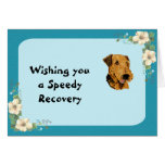 Airedale Terrier - I'ma Airedale Lover Floral Card