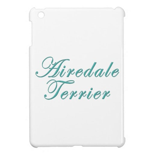 Airedale Terrier iPad Mini Case