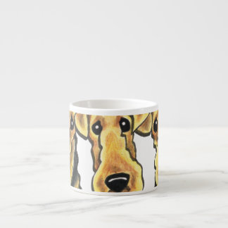 Airedale Terrier Lover Espresso Cups