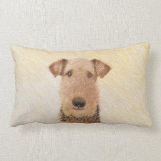 Airedale Terrier Lumbar Cushion