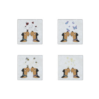 Airedale Terrier Magnet Set