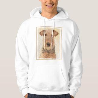 Airedale Terrier Painting - Cute Original Dog Art Hoodie