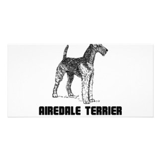Airedale Terrier Photo Greeting Card
