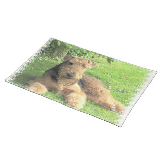 Airedale Terrier  Placemats