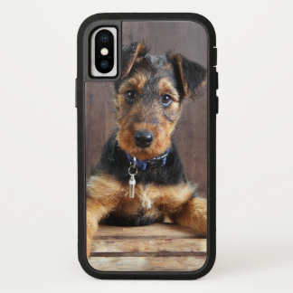 Airedale terrier puppy iPhone x case
