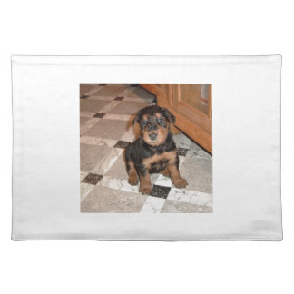 Airedale Terrier Puppy Placemat
