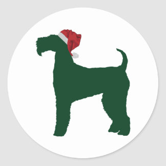 Airedale Terrier Round Sticker
