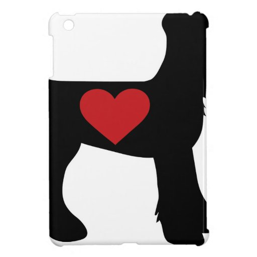 Airedale Terrier Silhouette Case For The iPad Mini