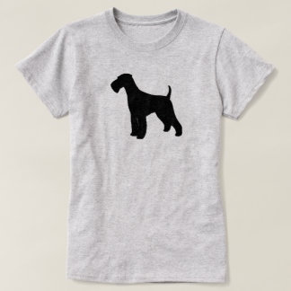 Airedale Terrier Silhouette T-Shirt