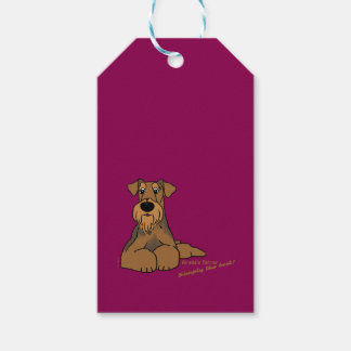 Airedale Terrier - Simply the best! Gift Tags