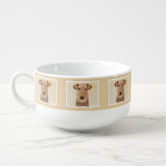Airedale Terrier Soup Mug