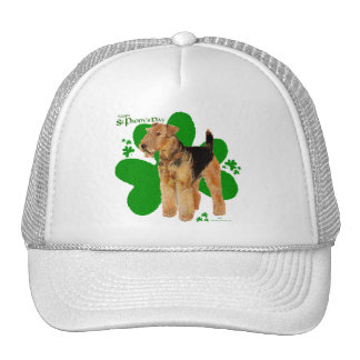 Airedale Terrier St Paddy Mesh Hat
