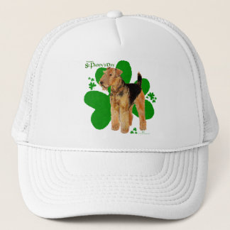 Airedale Terrier St Paddy Trucker Hat