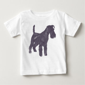 Airedale Terrier Watercolor Baby T-Shirt