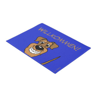 Airedale Terrier welcome Doormat