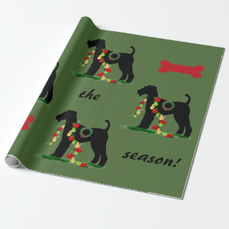 Airedale Terrier Wrapping Paper