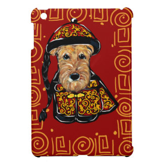 Airedale Terrier Year of the Dog iPad Mini Case