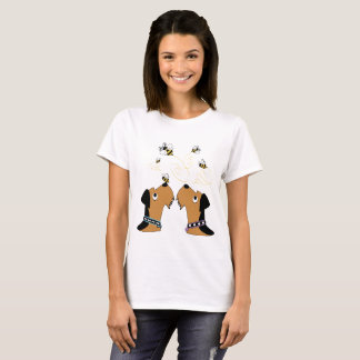 Airedales and Bees T-Shirt