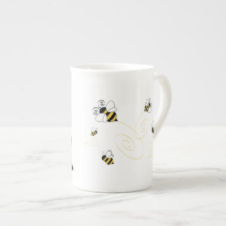 Airedales and Bees Tea Cup