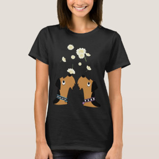 Airedales and Daisies T-Shirt