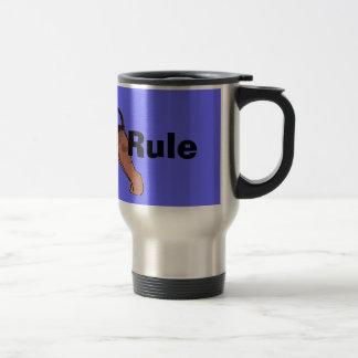 Airedales Rule Travel Mug