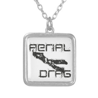 airefil drag hockey keeper silver plated necklace