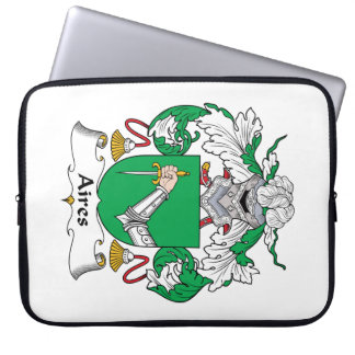 Aires Family Crest Laptop Sleeve
