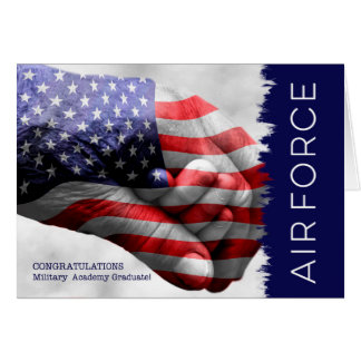 Airforce Academy Graduate - Hand in Hand Card