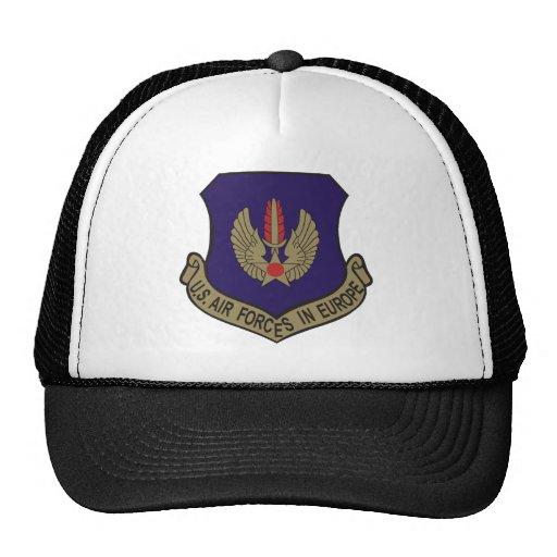 airforce europe mesh hats