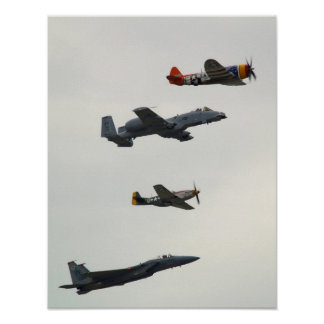 Airforce Heritage Flight Poster