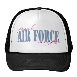 Airforce Wife Mesh Hats