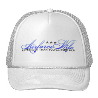 Airforce Wife Trucker Hat