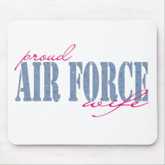 Airforce Wife Mousepad
