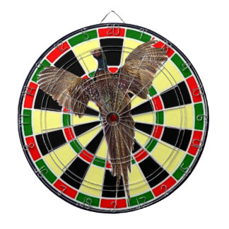Airgun dart board