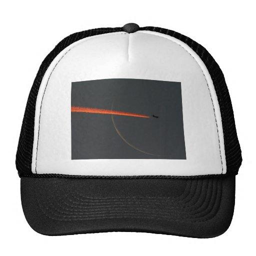 airline moon trucker hats