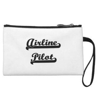 Airline Pilot Artistic Job Design Wristlets