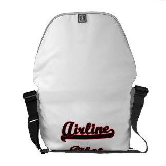 Airline Pilot Classic Job Design Courier Bags