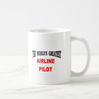 Airline pilot coffee mug