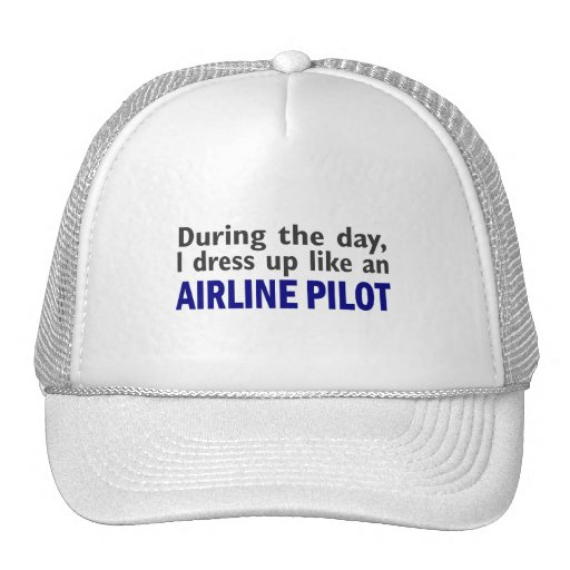 AIRLINE PILOT During The Day Hat