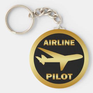 AIRLINE PILOT KEYCHAIN